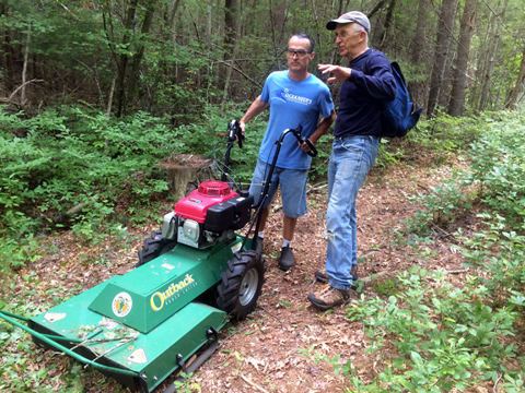 Rochester Land Trust Stewards Maintaining Trails At Doggett's Brook